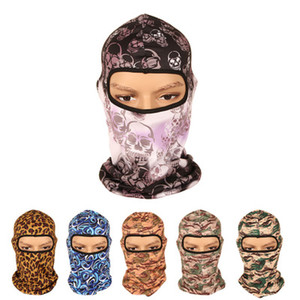 Woman multi-functional balaclava outdoor race CS tactical Cycling Headwear anti-dust Mask scarf Men Design Breathable Racing Riding Head We