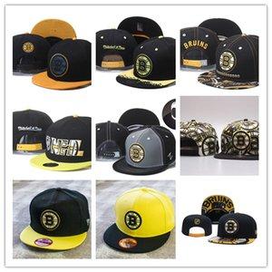 Boston B r u i n s snapbacks Bola Hats Fashion Street Headwear ajustável Hockey tamanho qualidade de futebol personalizado amante boné de beisebol topo