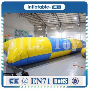 8 * 3m aufblasbares Wasser-springendes Katapult-Klecks 0.9mm PVC-aufblasbares Prahler-Kissen für das Spaß-Sport-persönliche im Freien besonders angefertigt