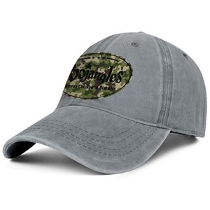 Bojangles' Famous Chicken Camouflage Unisex denim baseball cap golf vintage personalized uniquel hats American flag French fries Gay