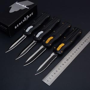 HOT Benchmade BM3320 3500 Double action Couteau automatique polyvalent Couteau de chasse tactique lame 440C poignée en alliage d'aluminium EDC outil