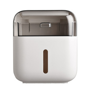 Toilet Paper Holder Plastic Bagno Tissue Paper doppio Boxes Parete Shelf Storage Box igienica Dispenser