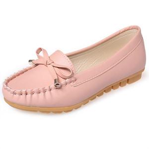 Мода женщина квартиры открытый обувь отдых бабочка-узел Женская обувь удобные квартиры обувь Zapatos Mujer X233