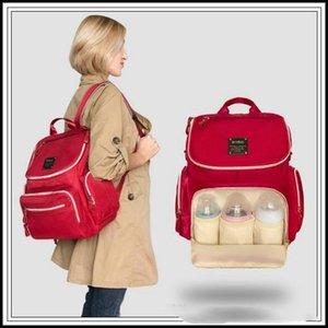 5 Farben LANDUO Mami Rucksäcke multifunktionale Wickeltasche Outdoor Reiseveranstalter Mit Kinderwagen Haken Schultergurt KKA2806