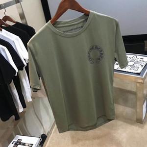 CH crowe xinchao военный зеленый крест ветряная мельница футболка подкова мужчины и женщины случайные хлопка футболка с свободным рукавом