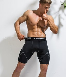 Jimnastik Eğitimi İç Spandex Sıkı uyum Running Şort Fitness şort Erkek Sıkıştırma Şort Fitness Koşu taytlar