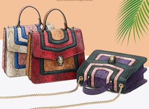 2020 European and American style new small square bag women's bag fashion slung shoulder chain portable women's bag