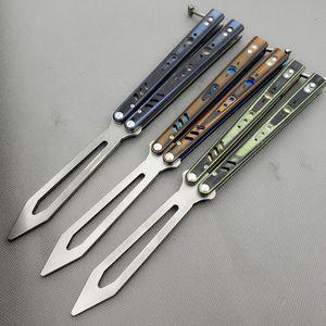 Balisong kelebek Killer Bee D2 G10 kolu eğitmen eğitimi bıçak değil keskin El Sanatları Dövüş sanatları Koleksiyon knvies şimdi hediye