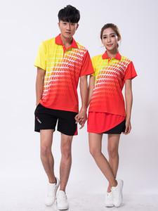 2018 Erkekler badminton gömlek şort, kadın ping pong gömlek etek, spor Masa Tenisi Setleri tenis formalar Masculino Mujer zumaba