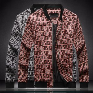 Mens Design Jacket Ver Luxury Trendy Fashion Hip Hop Jacket High Quality Custom Medusa Print Motorcycle Jackets Outdoor Custom Zip JacketsM-