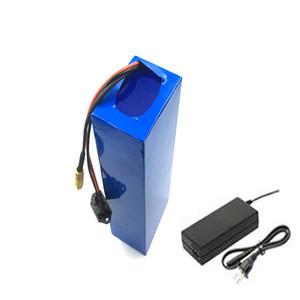 O envio gratuito de Alta qualidade recarregável 48 v bateria 20AH ebike 18650 baterias para 750 W 1000 W 1500 W motor + carregador