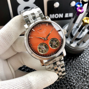 2020 Forsining Automatic Mechanical Business Watch Mens Clock Golden Moon Phase Steel Strap Wrist Watches Top Brand Relogio Masculino