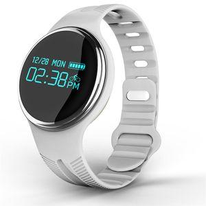 E07 Schwimmen Smart-Armband 24 12 Uhr System-Halskette Uhr Pedometer Fitness Tracker Smart Watch Step Counter-Armbanduhr für iOS Android