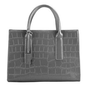 Wholesale and foreign trade new women's handbags Korean fashion embossed crocodile pattern handbag tide shoulder slung bag
