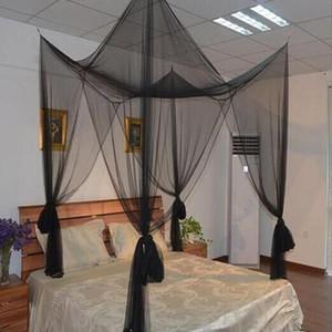 TPFOCUS Zarif 4 Köşe Sonrası Cibinlik Çift Kişilik Yatak Sivrisinek Kovucu için Tam Kraliçe Kral Yatak Yatak Gölgelik Dekorasyon 1 Adet