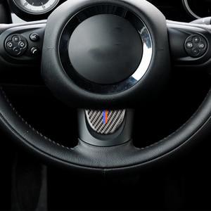 BMW 소형 술장수 R55R56R60R61 를 위해 적당한 탄소 섬유 핸들 장식적인 덮개 손질 스티커 차 수정 부속품