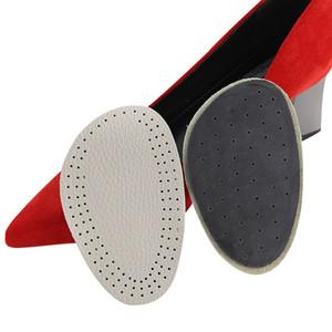 2 пары женщин высокий каблук кожа массаж стопы колодки плюсневой колодки шар ноги стельки для дополнительного комфорта анти-скольжения колодки
