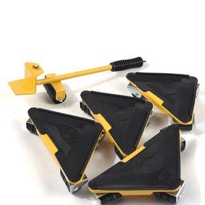ağır kaldırma ev mobilyası aksesuarları ile mobilya taşıma silindiri set hareket kaldırma kaldırma aracı 4 köşe sürücü