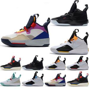 Designer formatori Mens Jumpman XXXIII 33 Future Tech Origini Pac pattini di pallacanestro 33s per i migliori qualità degli uomini Jogging Sneaker formato Stati Uniti 7-13