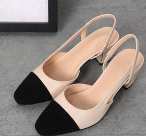 أحذية حار بيع جلد العجل المرأة CatwalkMules شقق بيج رمادي فستان الزفاف واحدة مع صندوق أصلي