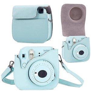 Acessórios Peças Sacos Estojos de couro Camera Strap Bag Case Cover Pouch Protector Alça Para Polaroid Photo Camera Para