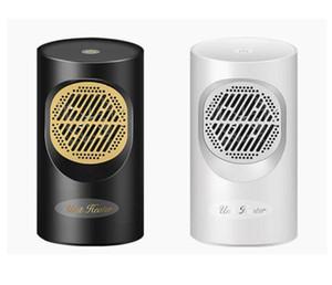 Mini Warmluftgebläse 220V für Europa Touch Screen elektrische Heizung tragbar Mini-Haus Personal Space-Wärmer für Innengerät Heizung