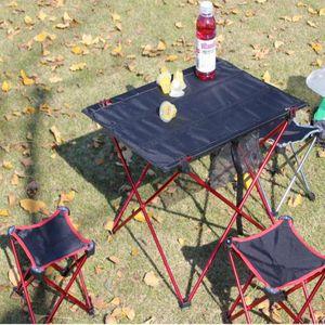 (272x) Neue Ultra-Light Folding Aluminium Camping Picknick Bbq Tisch Outdoor Camp Ausrüstung