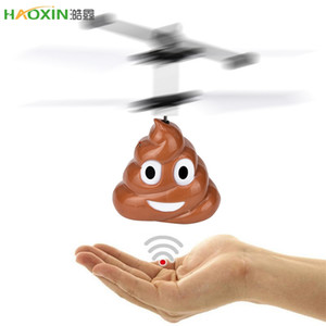 Haoxin nouvelle mode main volant balle Mini induction Merde Suspension Avion RC Jouet volant Drone de haute qualité Drop Shipping