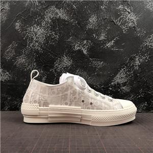 dior men shoes 2020 más reciente de lujo de alta calidad 19SS floral lona técnica B2 B24 oblicuas de los hombres a estrenar de alta arriba zapatillas de deporte de marca B2 zapatos