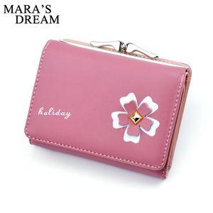 Mara's Dream Fashion PU pelle portafoglio donne borsa moneta tasca femminile frizione donne borsa portafoglio Multipocket breve portafogli standard