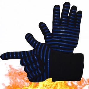 1Pc Extreme Hitzebeständige Grill Ofen Handschuhe 932 ° F-Topf-Halter Kochen Mitts Grillzubehör
