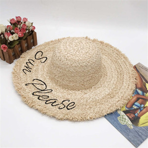 Summer Designer Beach Casquette 20sses Chapeaux de mode Chapeau de bonnet pour femme ajustable M Caps Casquettes Femmes Chapeaux de paille de femme Excellente qualité