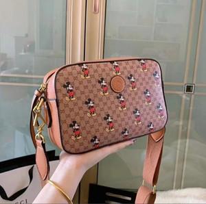 borse a tracolla donna di alta qualità 2020 borse del progettista Moda Rivet sacchetto esterno accessorio catena inclinato bar portafoglio trasporto libero J043