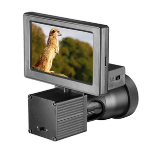나이트 비전 HD 1080P 4.3 인치 디스플레이 샴 범위 비디오 카메라 적외선 조명 Riflescope 사냥 광