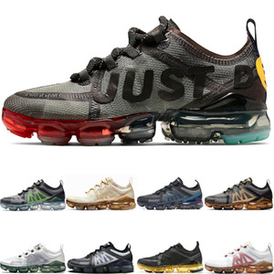 Nike Air Vapormax 2019 2019 Yeni CPFM X VPM Tasarımcı Erkek Kadın Koşu Ayakkabıları Geniş Gri PRM Oregon Alüminyum Mavi Siyah Altın erkek Eğitmenler Spor Sneakers 36-45