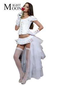 Coda di danza delle donne di luna nuova delle donne organza balletto di danza tutu gonna costume di halloween costume cosplay gonna Y19043002