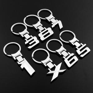Brand New 3D-Zink-Legierung Schlüsselkette Keychain Auto-Emblem Keychain Schlüsselanhänger Emblem für BMW 1er 3 Serie 5 Serie 6 7 8