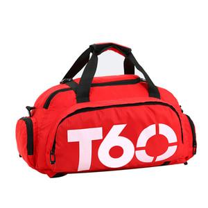 2018 Brand New Men Sport Gym Bag Per Le Donne Fitness Impermeabile All'aperto Spazio Separato Per Scarpe Nascondere Zaino sac de sport T60