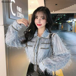 Women's Hollowed-out Western Style Small Shirt Autumn and Winter Tassel Outer Wear Shirt Top Fashion snake print