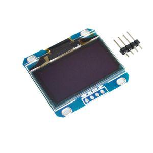 """1 ADET 1.3 """"OLED modülü beyaz veya mavi renk 128X64 1.3 inç OLED LCD LED Ekran Modülü 1.3"""" IIC I2C Iletişim"""