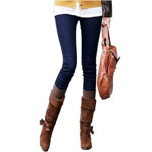 Los nuevos pantalones vaqueros de moda para señoras embarazadas mujeres Skinny Jeans de maternidad Pantalones Vaqueros