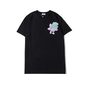 nova Primavera de Luxo Homens Mulheres T-shirt Verão Marca camisas Designer T Shirt Luxo bordado Camisolas Casual Camiseta Unisex Trench 2002032L
