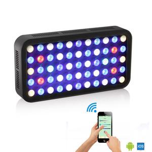 AC85 ~ 165V 165W LED Aquarium Licht Vollspektrum Wachsen Licht Wifi Smart Control Coral Aquatic Aquarium Lampe Aquarium LED-Licht