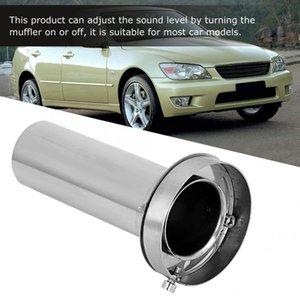 Auto Einstellbare abnehmbarer Rundkopf Auspuff Auto-Änderung