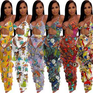 Costumi da bagno all'ingrosso Il nuovissimo designer Brand Bikini Donne Costume da bagno Garza Sexy Costume da bagno Sexy 2 pezzi Costumi da bagno Stampa KLW3742