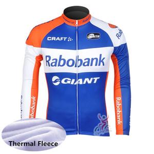 Maglia ciclismo New Team MAAP KUOTA Manzana Postobon RABOBANK Inverno Uomo manica lunga in pile termico sport camicia bicicletta bici abiti Y111101