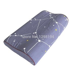 100% Cotton Bedding Pillowcase Pillow Case Cover Bedroom Bed Sleeping for Memory Foam Pillow Latex Pillow 50*30cm 60*40cm Y200104