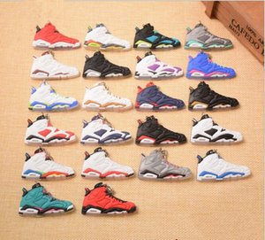 Ir Atacado Correndo Mini sapatos Keychain 3D Sneaker borracha macia multi estilos disponíveis encantos Direito de Decidir