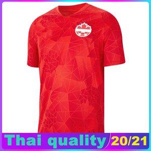 2020 Канада Джерси национальной команды домой футбол 2020 2021 Канада Hoilett футбол рубашка Camiseta де Футбол Майо де лапка Камиза Вентиляторы Tops