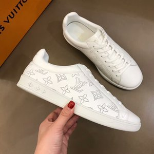 Luxury Designer Rockrunner sneakers leather Men Women casual shoes Sneakers Footwear Women Flats Dress Shoe Sports Tennis Printing 38-44 823